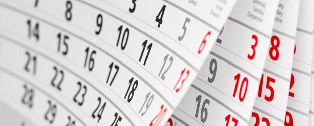 Es publica el calendari de dies inhàbils en l'àmbit de l'Administració General de l'Estat per l'any 2015, a efectes del càlcul de terminis.