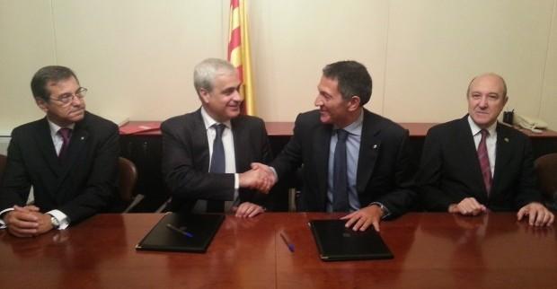 El Consell de l'Advocacia Catalana signa un conveni amb Justícia per a la posada en marxa d'un torn d'ofici específic per a persones grans vulnerables