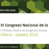 """Es clausura el """"XI Congreso Nacional de la Abogacía"""" amb la lectura de la declaració de Vitoria"""