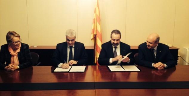 Signat l'Acord amb el Departament de Justícia per garantir l'assistència jurídica gratuïta a les persones sense recursos