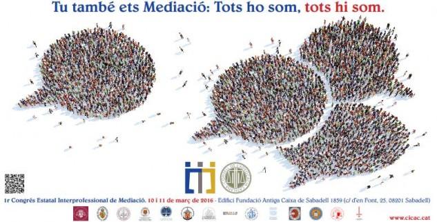 1r Congrés Estatal Interprofessional de Mediació