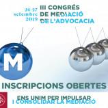 III Congrés de Mediació de l'Advocacia